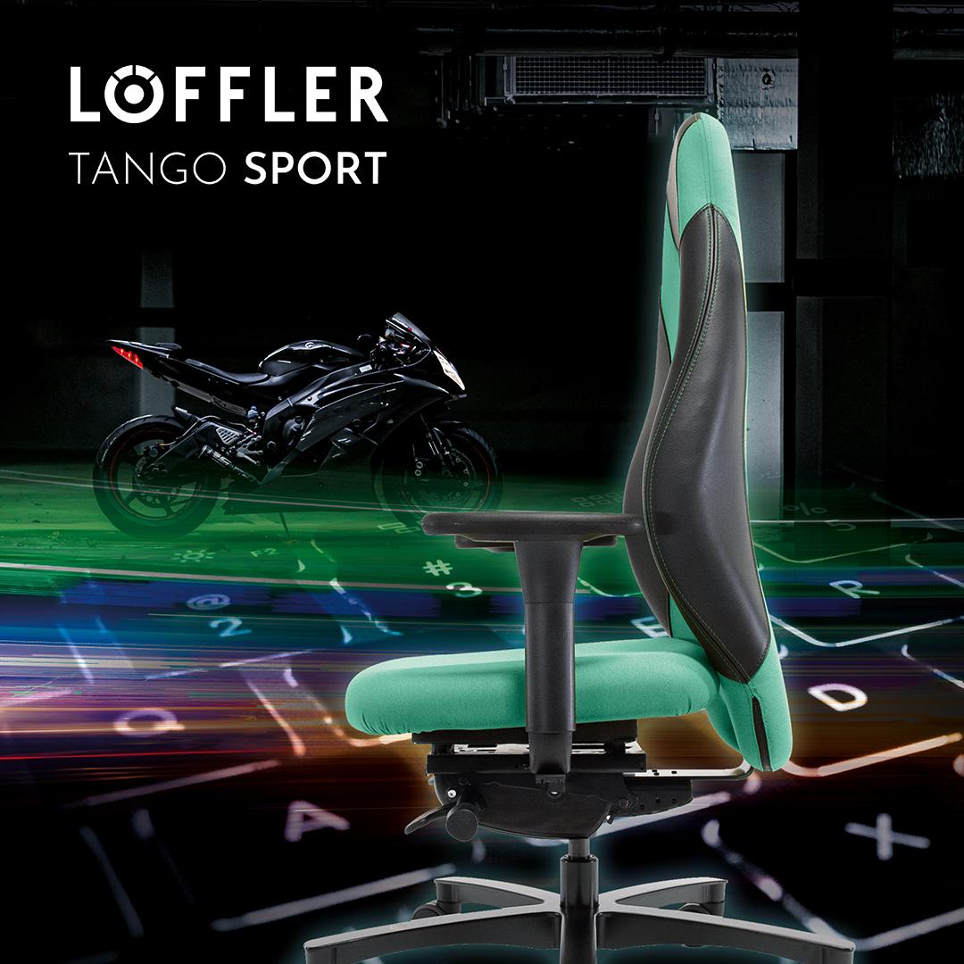Bürotrend Büromöbel, Büroeinrichtung, Bürotechnik Bielefeld OWL | Löffler Bürostuhl Tango Sport
