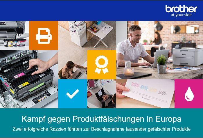 Bürotrend Büromöbel, Büroeinrichtung, Bürotechnik Bielefeld OWL | Brother im Kampf gegen Produktfälschungen