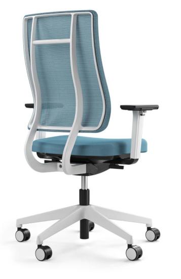 Bürotrend Büromöbel, Büroeinrichtung, Bürotechnik Bielefeld OWL | Viasit ergonomischer Bürodrehstuhl Newback