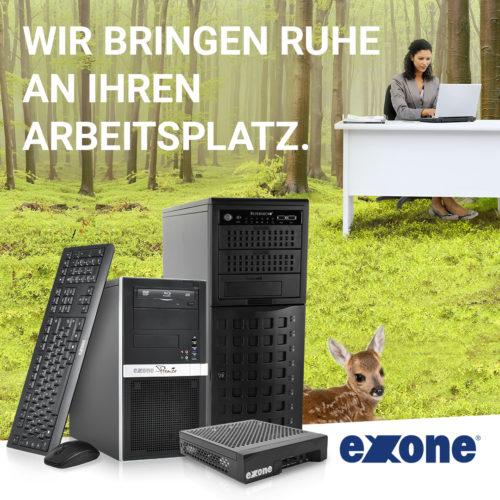 Bürotrend Büromöbel, Büroeinrichtung, Bürotechnik Bielefeld OWL | EXONE PCs